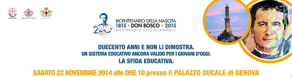 Convegno su San Giovanni Bosco a Palazzo Ducale a Genova, il prossimo 22 novembre